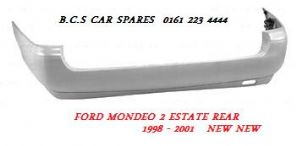 FORD MONDEO  MK 2  REAR BUMPER  ESTATE  NEW  NEW   1999 - 2000 - 2001